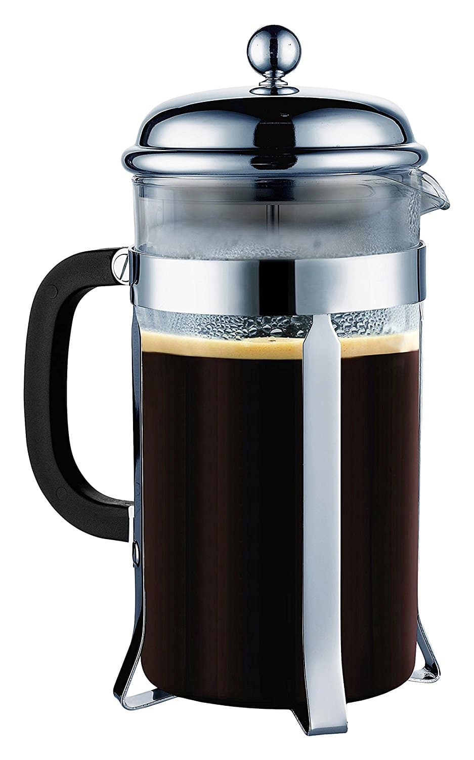 Over 40% off--SterlingPro French Coffee Press(Chrome, 1L) Only $15.58(FREE shipping with Prime)