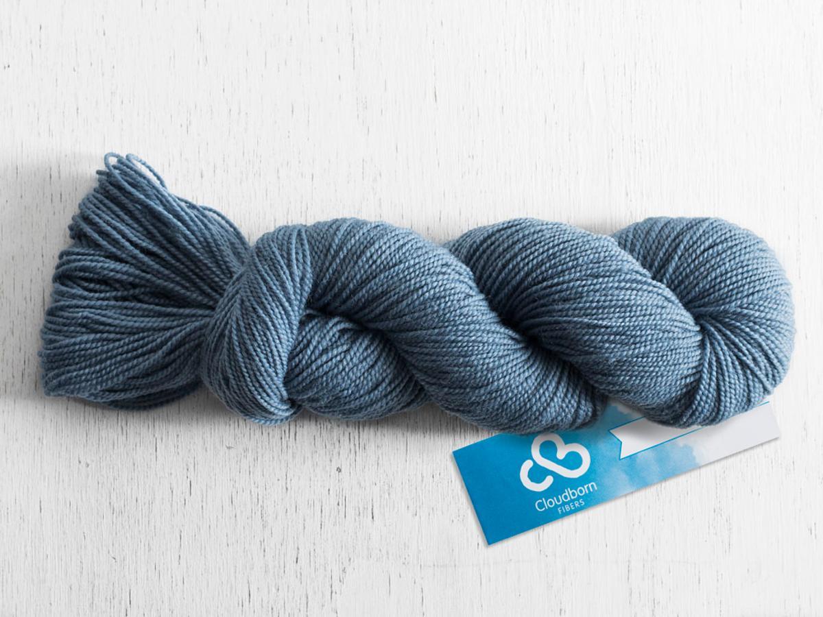 Cloudborn Highland Superwash Sock Twist Yarn 50g 60% off $2.40