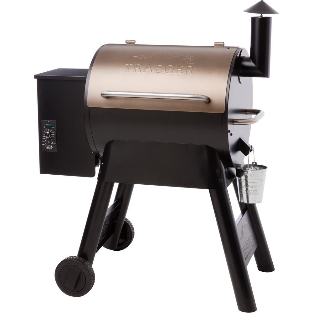 Traeger Pro Series 22 Pellet Grill in Bronze - $360