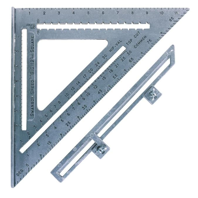 Swanson Tool Company 12-in Speed Square $12.27 at Lowe's - B&M YMMV