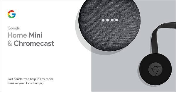 Google Smart TV Kit: Google Home Mini and Chromecast   $17   Walmart B&M   YMMV