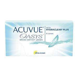 Acuvue Oasys Contact Lens $60.95/year and Acuvue Oasys Contact Lens for Astigmatism $120.35/year AR + FREE SHIPPING at Visiondirect using ShopDiscover