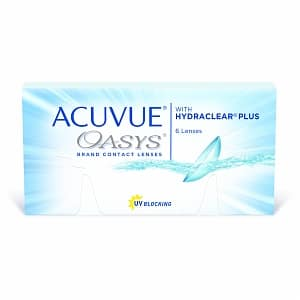 Acuvue Oasys Contact Lens $6.37/box and Acuvue Oasys Contact Lens with Astigmatism $13.79/box + FREE SHIPPING at Visiondirect