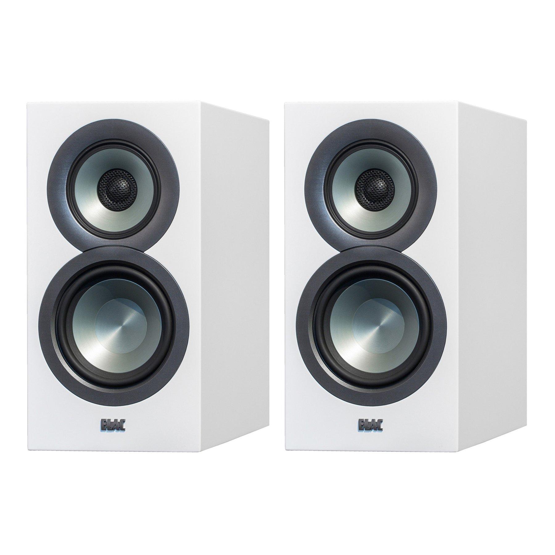 ELAC Uni-fi UB5 Slim Bookshelf 3-Way Speaker Pair White or Black by Andrew Jones $537.42