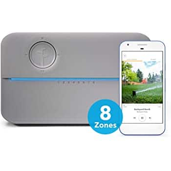 Amazon: Up to 25% Off + Save Extra $20 with Amazon Coupon on Rachio 8ZULWC-L R3e Generation: Smart, 8 Zone Sprinkler Controller, Works with Alexa, Gen, Gray