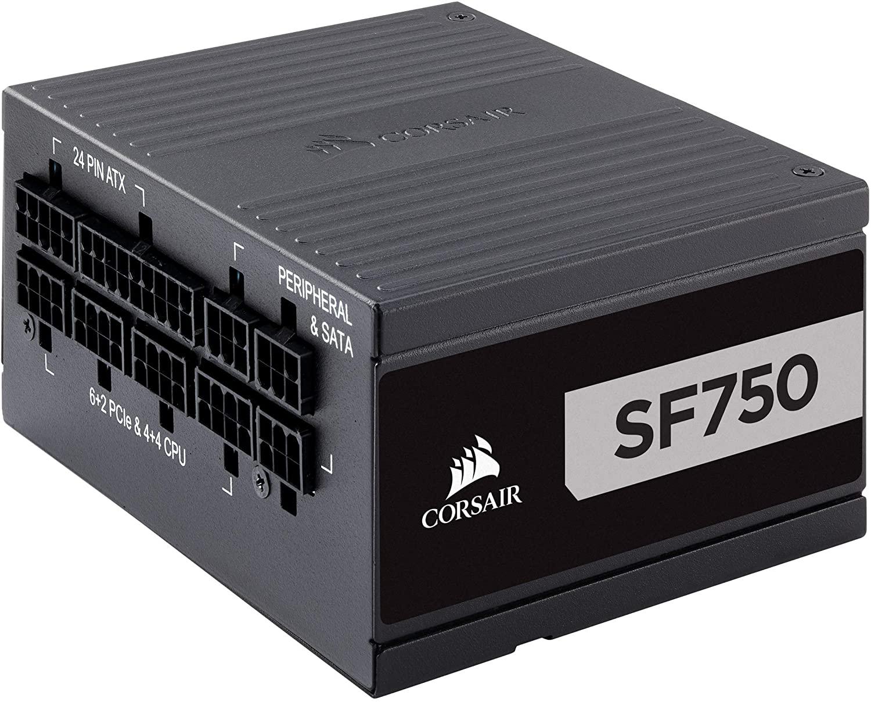 CORSAIR SF Series, SF750, 750 Watt, SFX, 80+ Platinum Certified $164.8