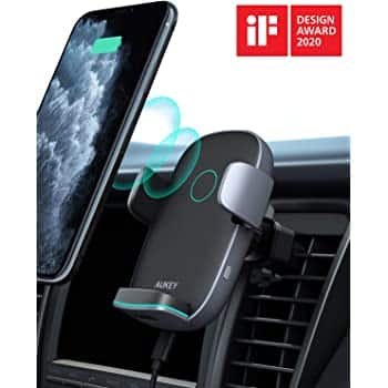 AUKEY 10W Wireless Car Charger $21.99