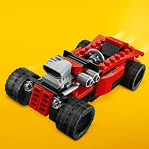 LEGO Creator 3in1 Sports Car Toy 31100 Building Kit (134 Pieces) $7.99