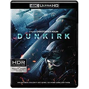 Buy two 4K UHD Blu Ray Movies for $30