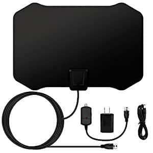 E-More 1080P Digital 50 Mile Range Antenna $8.39 after 30% coupon and Prime
