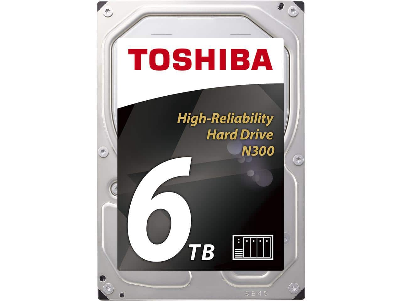 Toshiba N300 6TB High Reliability NAS Hard Drive 7200 RPM 128MB Cache $163.99 Free Ship