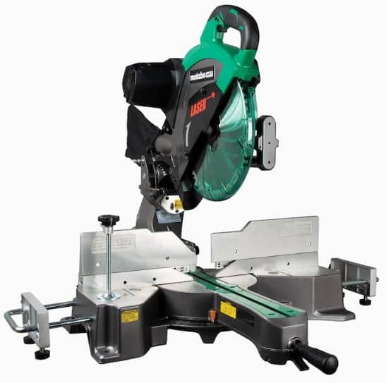 """Metabo 12"""" Compound Miter saw with Laser $269 Lowe's YMMV"""