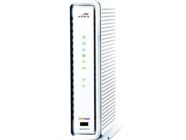 ARRIS SURFboard SBG6900AC DOCSIS 3.0 Cable Modem & WiFi AC1900 Router (Refurbished) $89.99