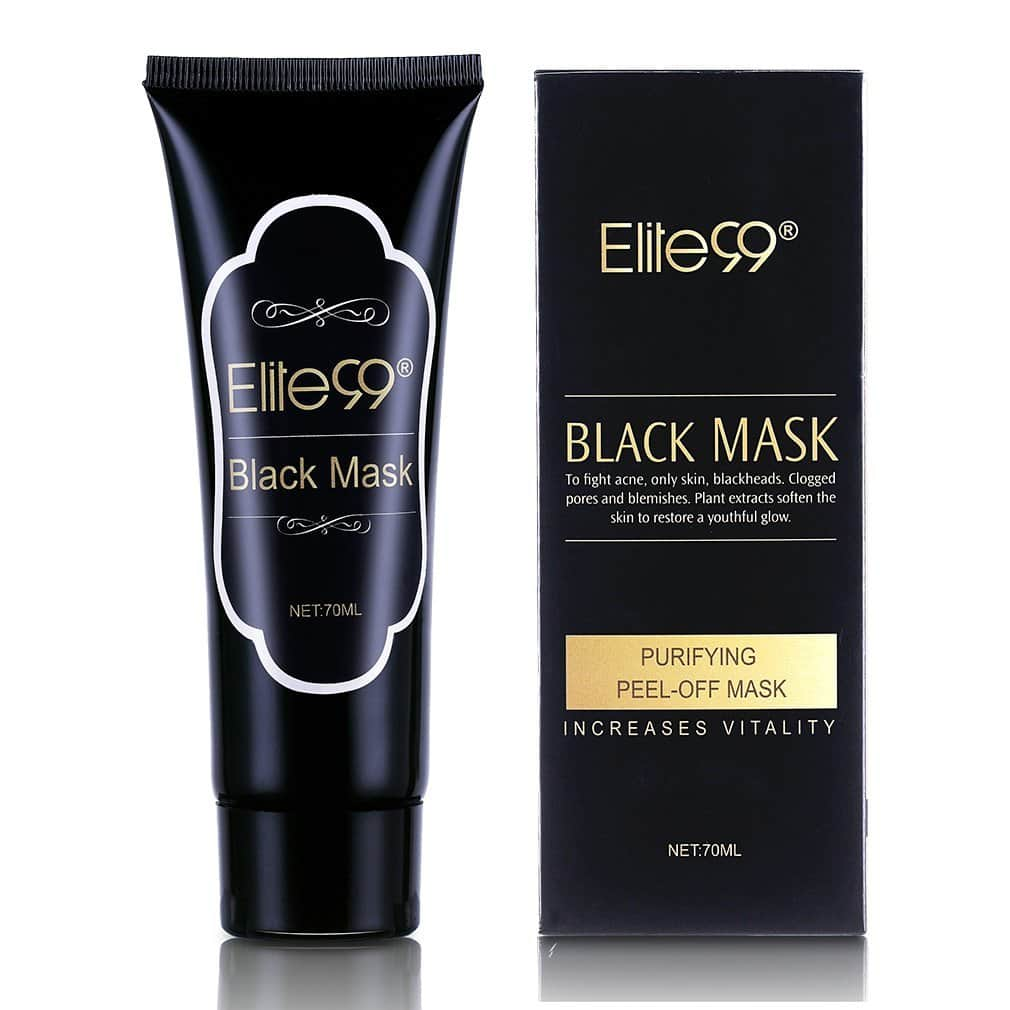 Elite99 Purifying Black Peel off Mask, Charcoal Face Mask, Blackhead Remover Deep Cleanser, Acne Black Mud Face Mask $4.99