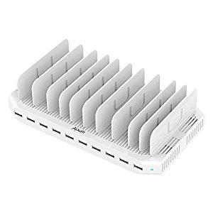 iPad Charging Station 96W 10-Port Alxum USB Charging Station $29.99 AC + FS $29.73