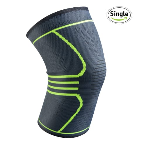 Relax Artist Compression Knee Brace Knee Sleeve, Support for Sports, Running, Jogging, Basketball, Joint Pain Relief, Arthritis and Injury Recovery, Men and Women $5.49