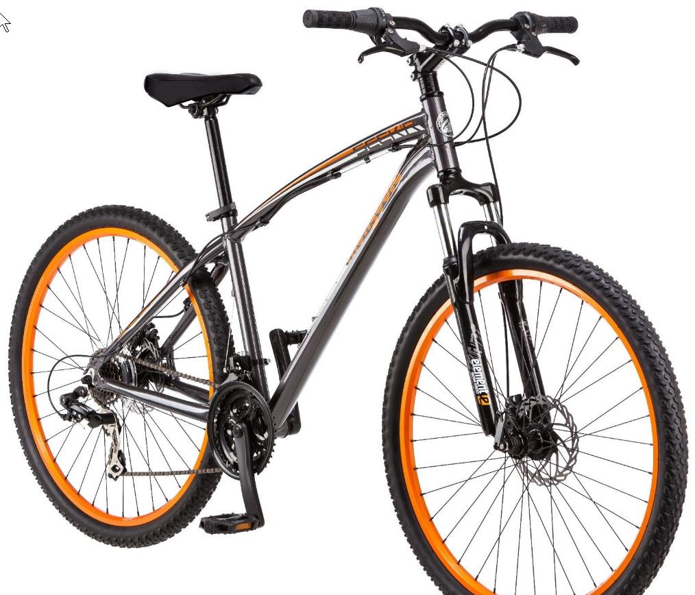 "Mongoose Seeker 27.5"" Front Suspension Men's Bike $130"