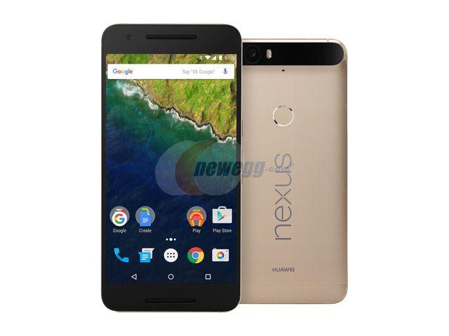 OOS **Open BOX** Nexus 6P 64GB Matte Gold LTE Unlocked Smartphone Newegg $359.20 + shipping