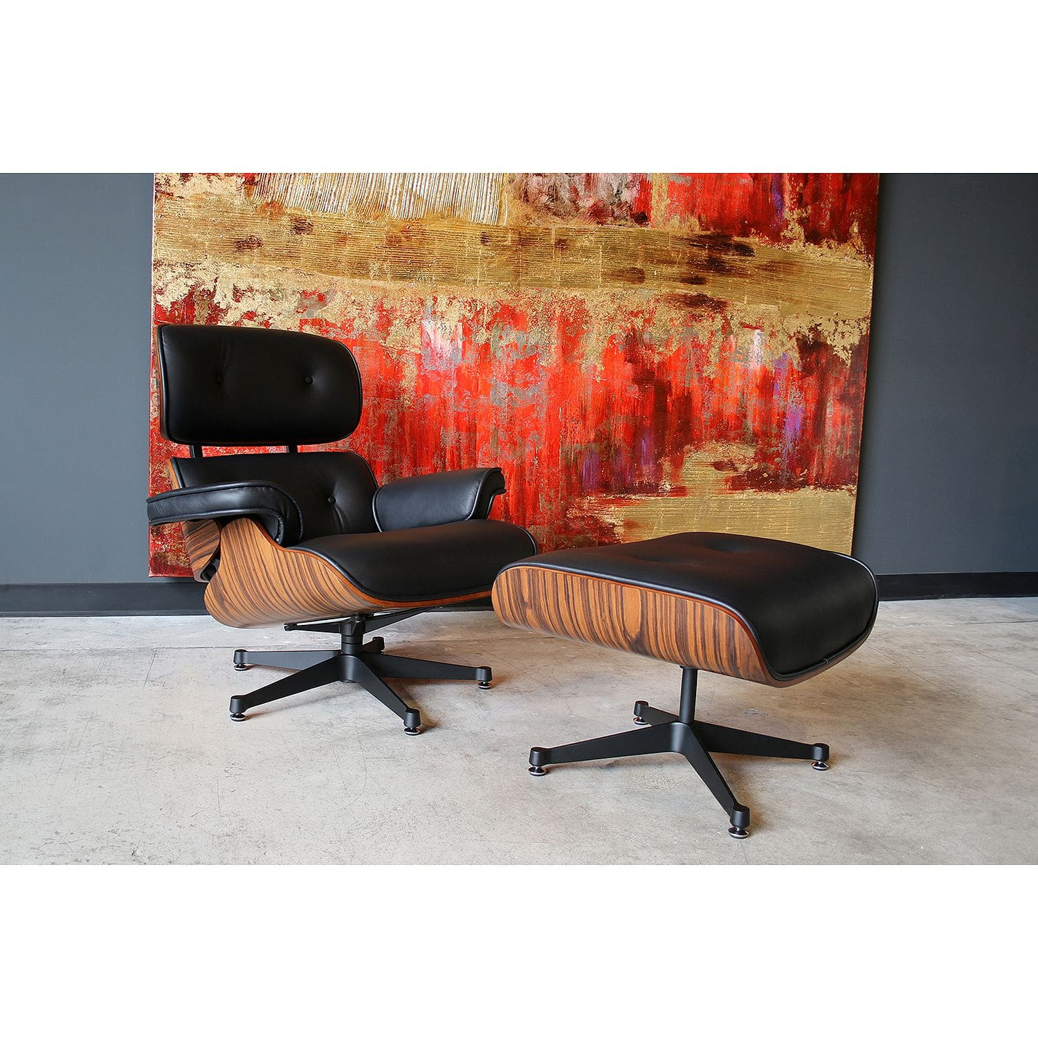 Herman Miller Authentic Eames Lounge Chair and Ottoman $3999 00