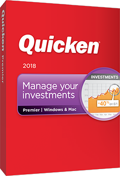 Quicken Premier 2018 - 5 Yr Membership $0