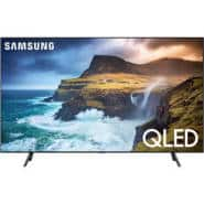 "Samsung Q70 65"" Class HDR 4K UHD Smart QLED TV (2019) Model #QN65Q70RAFXZA $999"