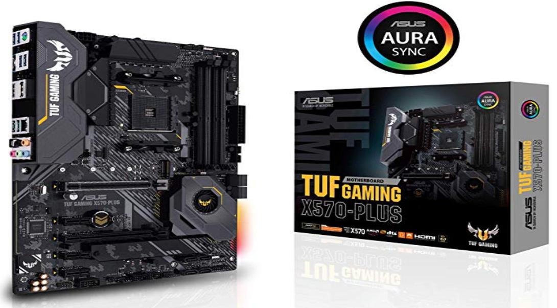 ASUS AM4 TUF X570-Plus Gaming ATX Motherboard - 164.99 @Amazon $164.99