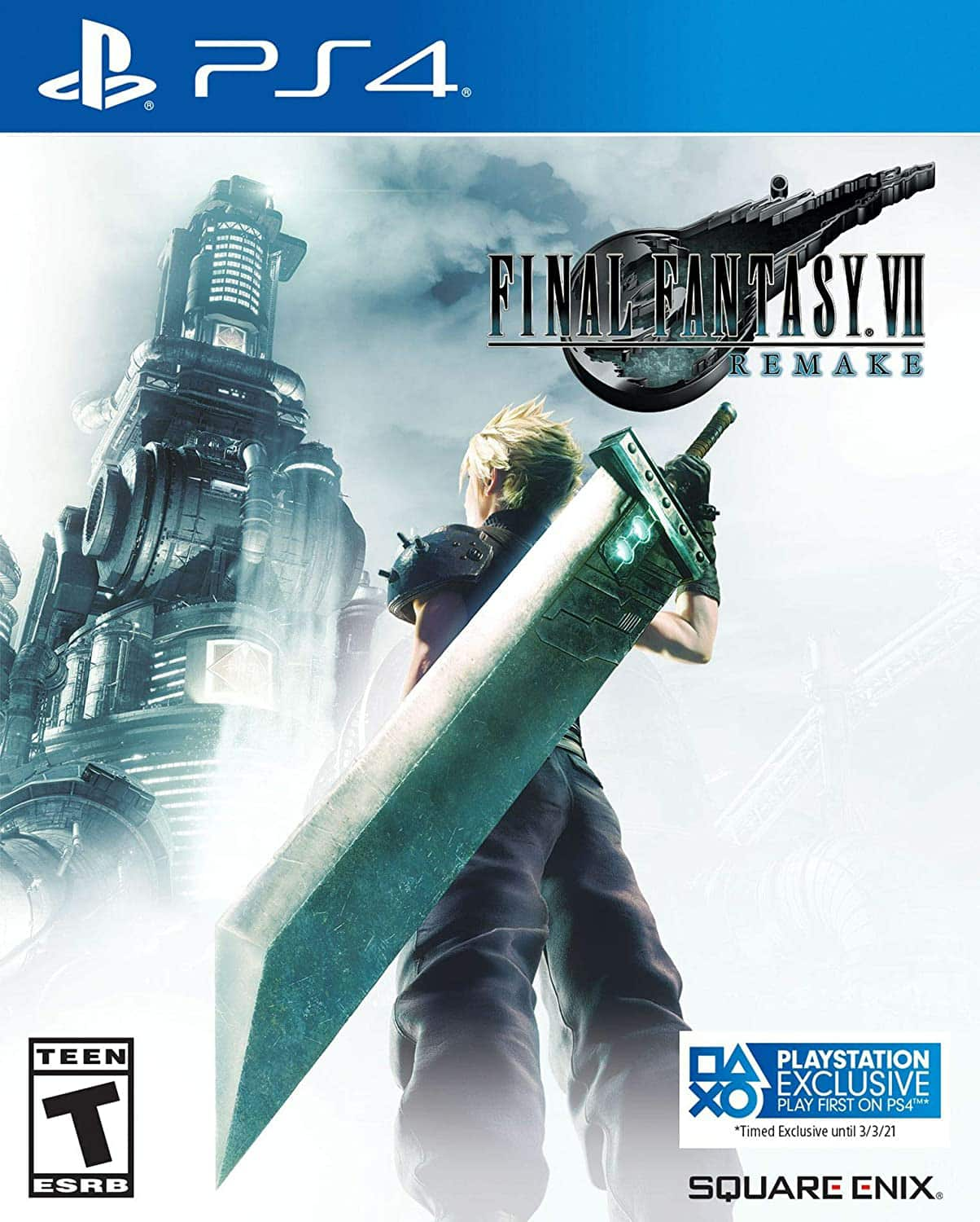 Amazon price match PS4 Final Fantasy 7 remake, $24.99, Free shipping with prime