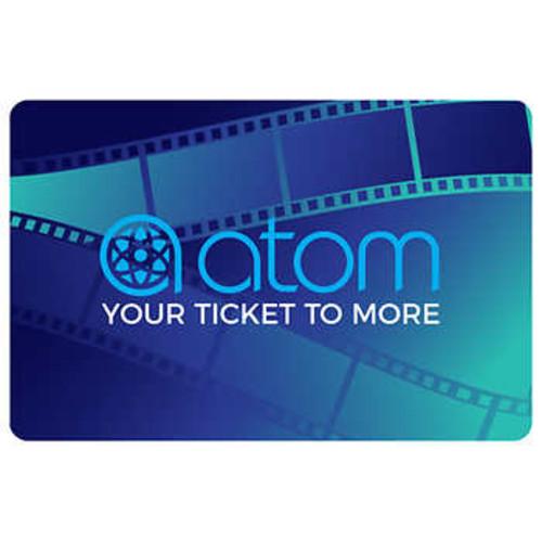Atom Tickets $100 eGift Card $74.99