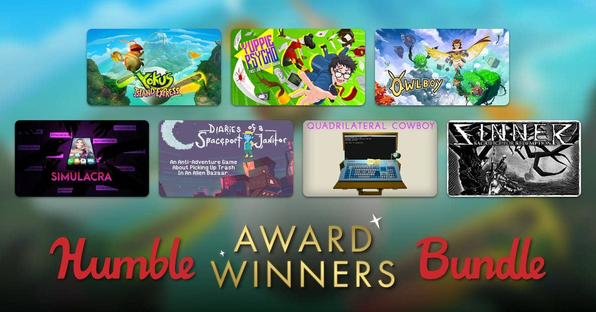 Humble Award Winners Bundle starting from $1 (PC)
