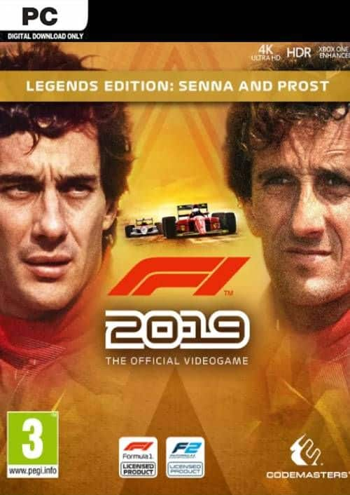 F1 2019: Legends Edition - $12.49 @ CDKeys (PC / Steam)
