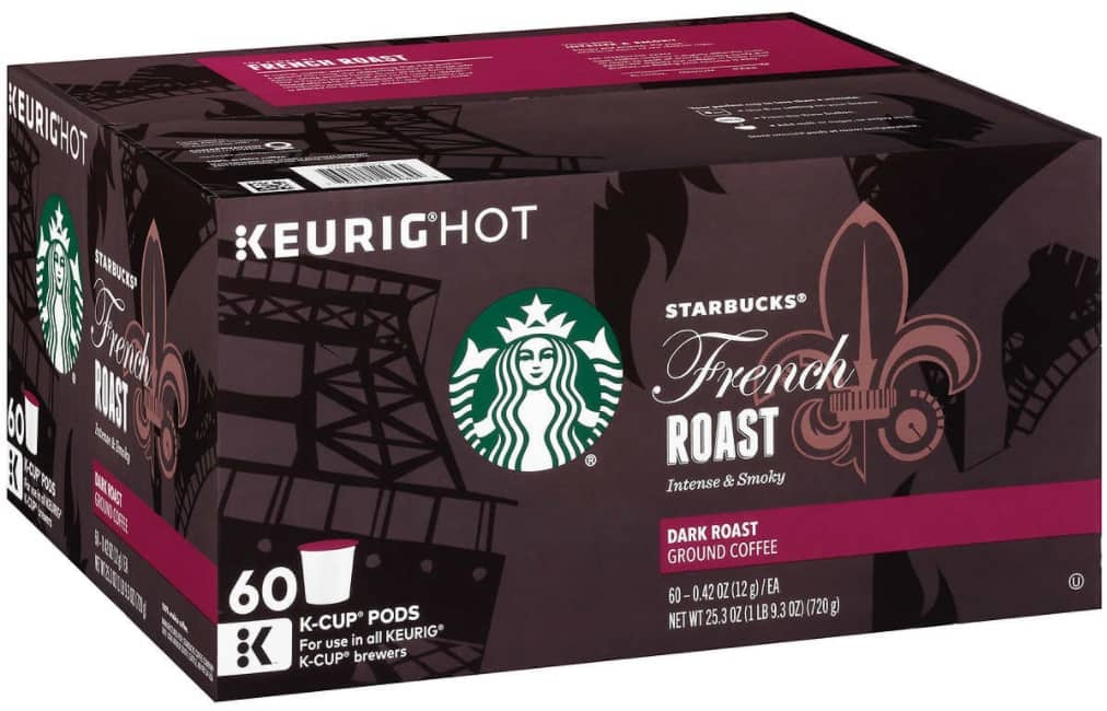 Starbucks French Roast 60 Count K-Cups for $4.97 at Costco - B&M Only (probably price mistake) - YMMV