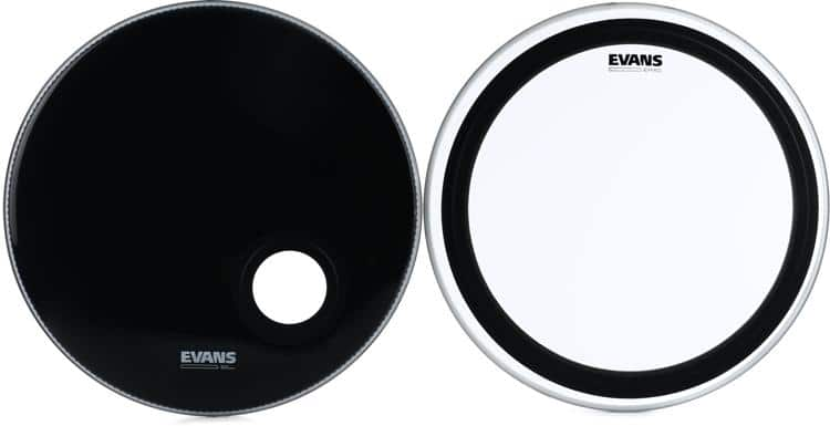 Evans EMAD Bass Drum System Bundle - 22 inch $68 shipped