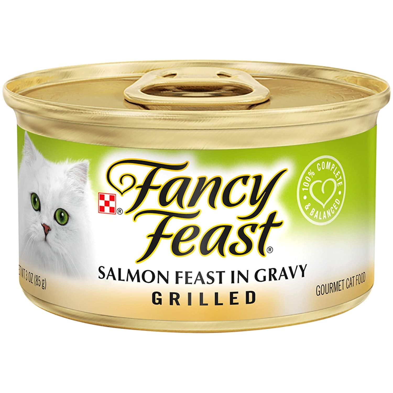 Purina Fancy Feast Grilled Feast in Gravy Canned Wet Cat Food [Gravy]  24 pack  11.64 or lower $11.64