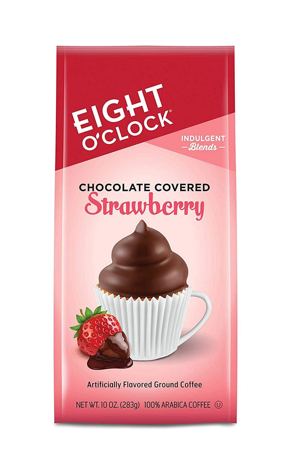 Eight O'Clock Coffee Indulgent Blends Ground Coffee, Chocolate Covered Strawberry, 10 Oz  $4.57 ac S&S 5+ items