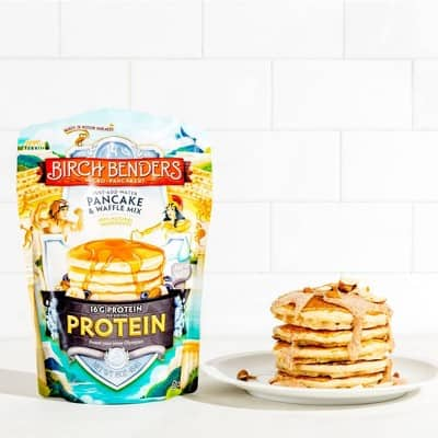 Birch Benders, Protein Pancake and Waffle Mix with Whey Protein, 16 oz as low as $2.96