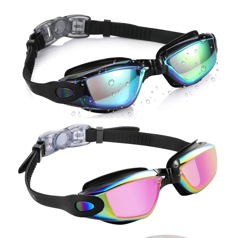 Aegend Swimming Goggles, 2-Pack  $8.99
