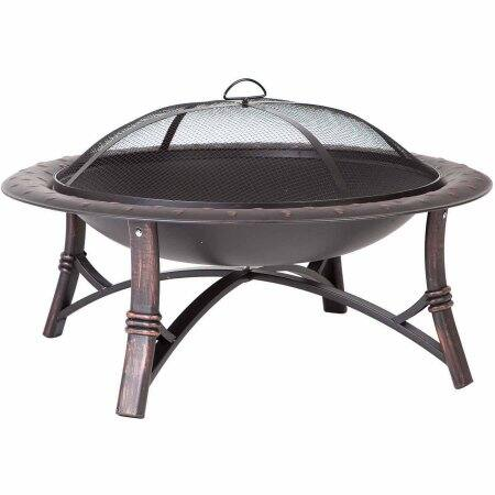 Fire Pit - Fire Sense Roman Fire Pit - $41 @ Amazon or Walmart