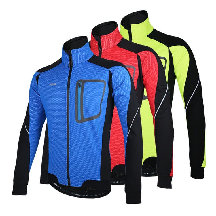 ARSUXEO Sports Cycling Clothes Bike Bicycle Fleece Jersey Long Sleeve Clothing $9.99 AC + FS from US @ banggood