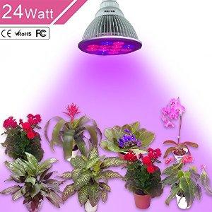 24W LED Plant Grow Light $14.99 AC + FS w/ Prime @ Amazon