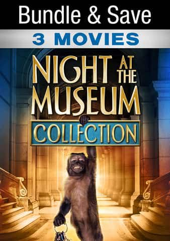 Night at the Museum 3-movie bundle on Vudu (+ Movies Anywhere) $9.99