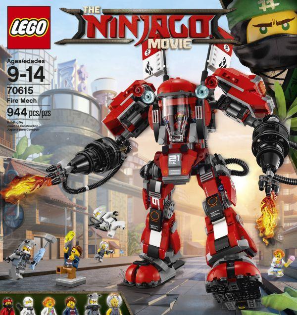 LEGO Ninjago Fire Mech 70615 - $55.99 or Green Ninja Mech Dragon ...