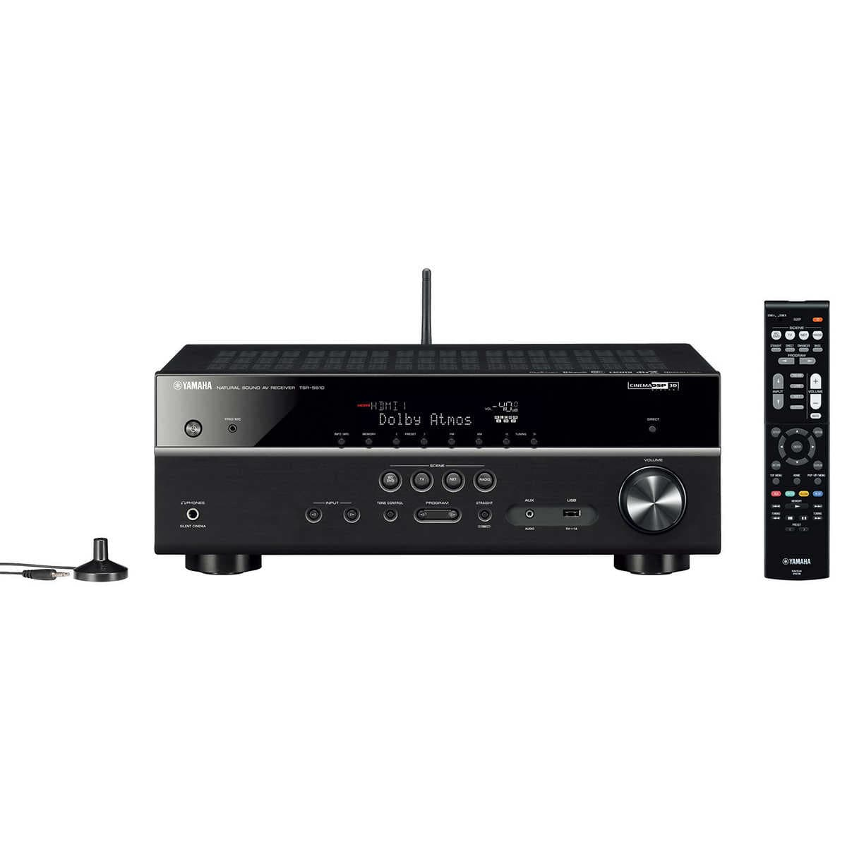 Yamaha TSR-5810 7.2-Channel Network AV Receiver 4K Ultra HD/HDR Pass-Through with HDCP 2.2, w/ Wi-Fi and Bluetooth $339.99 + Free Shipping @ Costco Online