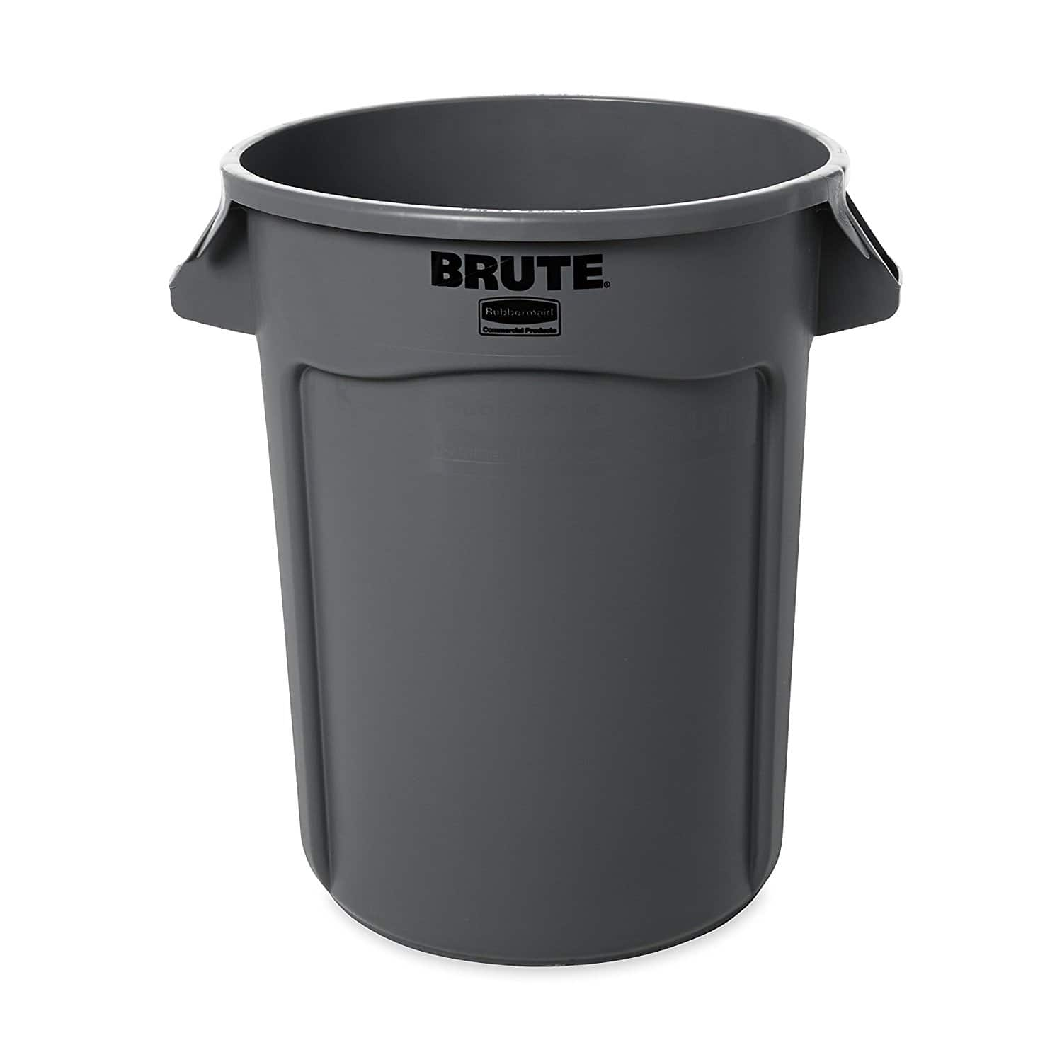 Amazon Rubbermaid Brute 32 gallon Trashcan $13 $23 with lid $66