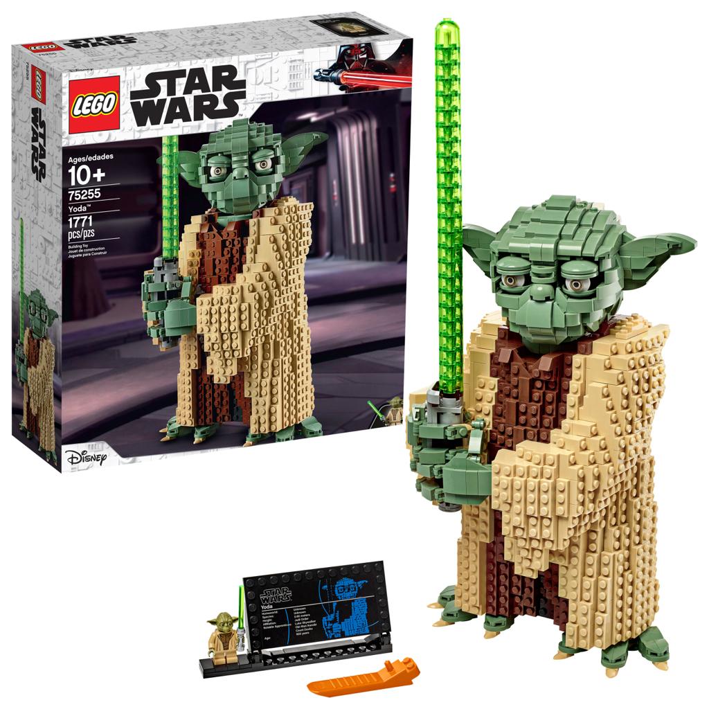 LEGO Star Wars Yoda 75255 Collectible Building Model (1771 Pieces) - $80 at Walmart