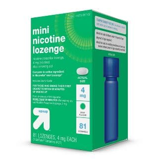Nicotine mini lozenges - 81 ct - in-store pickup with price-match $18.99