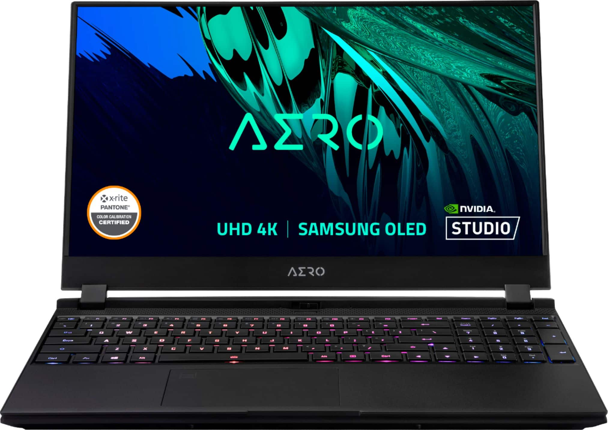 "GIGABYTE 15.6"" 4K OLED Creator Laptop Intel Core i7-11800H 16GB NVIDIA GeForce RTX 3060 1TB SSD AERO 15 OLED KD-72US624SP - Best Buy $1299.99"