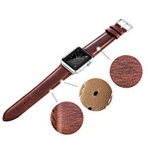 Apple Watch Genuine iWatch Leather Band - Free Shipping $7.99