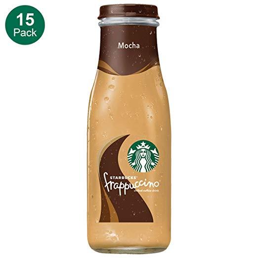 Starbucks Frappuccino, Mocha, Glass Bottles, 9.5 Fl. Oz (15 Count) $11.59 amazon S&S