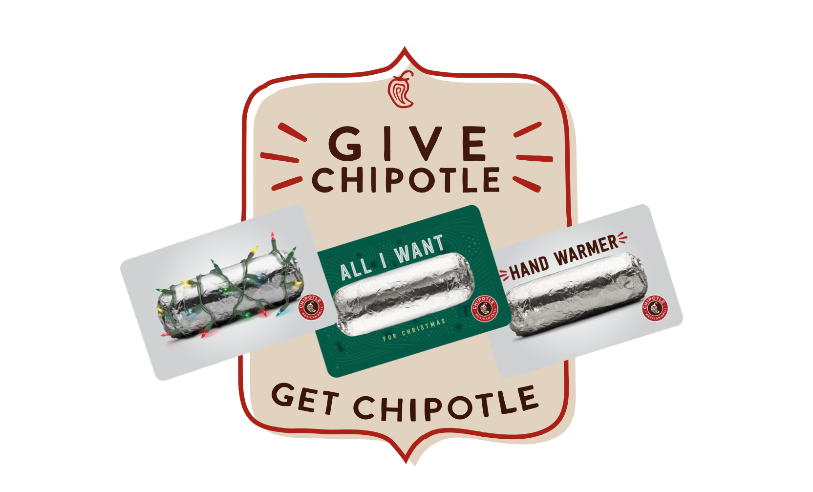 $30 Chipotle Gift Card and BOGO free entree coupon for $27 w/ chase reward YMMV