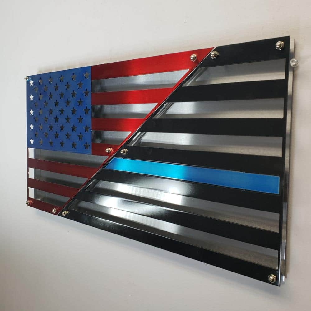 Metal USA Flags - Biometric Locking Cabinets - 22% off